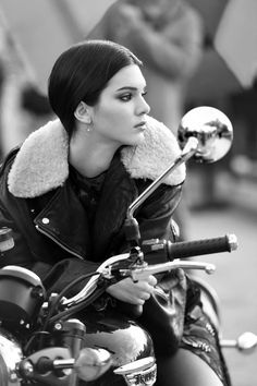 Kendall | #motorcyclegirls | #bikes-n-girls | @housemanc