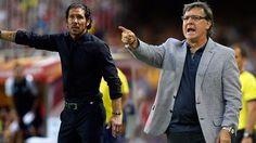 Tata Martino & Cholo Simeone: Duelo inédito en los banquillos. FC Barcelona Noticias