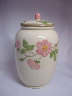 Franciscan Desert Rose Cookie Jar