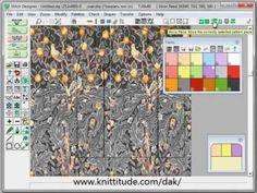 DesignaKnit 8 Graphics Studio Tutorial - Converting Large Multicolored Designs