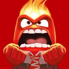 Anger - Inside Out Disney-Pixar