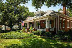 The Historic Fairmount District | Fort Worth, Texas | Arts & Crafts | Craftsman | Bungalow