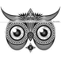 """The Keeper of Dark Secrets""  The owl represents wisdom and knowledge. This nocturnal bird serves as a reminder to honor knowledge and keep the secret private."