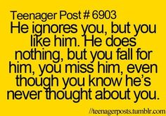 *huge sigh* story of my life :P That's ok, I'll find someone someday who will meet my standards and then more :)