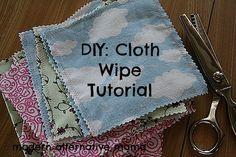 DIY: Cloth Wipes Tutorial