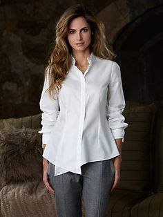 The Classic White Shirt every woman should own one.
