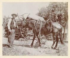 The Old West 1800 | ... and Scenic Photography - Old West Photos late 1800s - Cowboy 1900