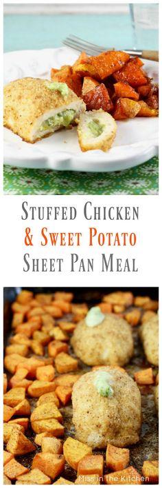 Barber Foods Stuffed Chicken Breast Recipe for an easy weeknight dinner recipe from MissintheKitchen.com #ad #BarberNight