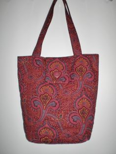 Tote Bag New Handmade Ethnic Indian Design Travel Tote Knitting Crocheting Crafts Computer Shopping Bag Gift for Her