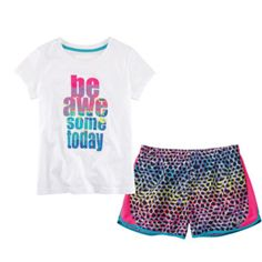 Xersion™ Graphic Tee or Running Shorts – Girls 7-16 and Plus  found at @JCPenney