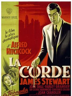1950 de Alfred Hitchcock Avec James Stewart Thriller, Drame