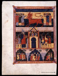 Beato de Liébana. Beato de Liébana , Santo — Manuscrito — 1047 493