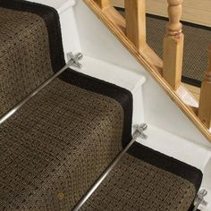 Jenga Black Stair Carpet Runner - Free delivery on orders over & 30 day return guarantee from Carpet Runners UK.