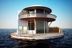 Casa en mar  #casas #houses  casas-raras  original-houses