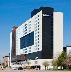 PORCELANOSA Group Projects: Hotel Radisson Blu, Minnesota (USA)