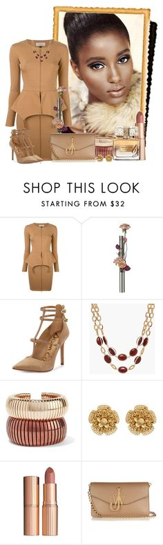 """I see Glamour!"" by brenda-joyce ❤ liked on Polyvore featuring Murmur, Alessi, Sam Edelman, Talbots, Rosantica, Miriam Haskell, Charlotte Tilbury, J.W. Anderson and Givenchy"