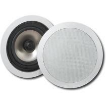 """Insignia™ - 6-1/2"""" In-Ceiling Speakers (Pair) $79.98 @ Best Buy"""
