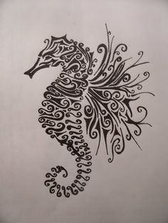 Would love to use the wing design of this for a bird tattoo :)
