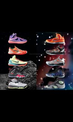 detailed look 7ebed b34df AREA 72 Star Battle, Nike Galaxy, All Nba Players, Foam Posites, All