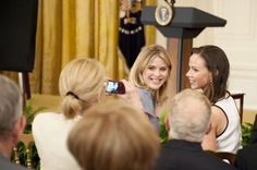 The Bush Sisters Wrote the Obama Girls A Letter; good role models.