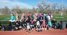 """Earlier this month, FIFA lifted its ban on headscarves, allowing female Muslim players to wear hijabs while playing soccer. But that didn't stop high school soccer referees in Aurora, Colorado from prohibiting Samah Aidah to play with her head covered.  Last week in response, the Overland High School girls soccer team took an inspiring stand in support of their teammate and her freedom of religious expression by donning headscarves representative of Aidah's hijab.""  Now that's team spirit!"