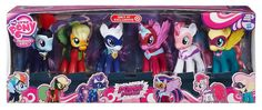 MLP Target Exclusive Power Ponies Fashion Style 6-pack