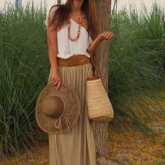 bohemian chic! @Karyn Linnell is this similar to what I was wearing in your dream? :)