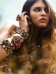 Jewels everywhere!