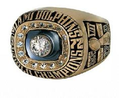 Miami Dolphins 1972 Super Bowl Championship Ring