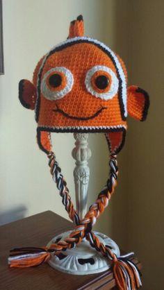 Nemo Crochet Hats, Knitting Hats
