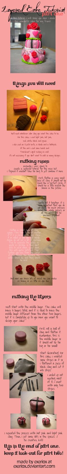 PART 1 Layered Cake Tutorial - by ~exeriox on deviantART