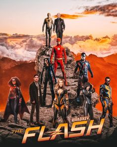 Dc Comics Series, Supergirl 2015, Black Lightning, Batwoman, The Flash, Crossover, Superman, Ads, Superhero