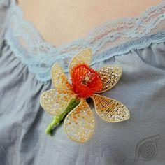 by Nady; photo by Monika Hulova Brooch, 3d, Model, Jewelry, Fashion, Moda, Jewlery, Jewerly, Schmuck