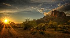 Superstition Mountains - the Lost Dutchman Gold Mine