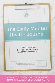 Looking for a mental health journal? Click to browse the collection of high-quality, practical self-help worksheets and coaching and therapy tools from The Wellness Society