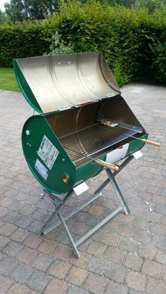 Oil drum BBQ, took me 1.5 days