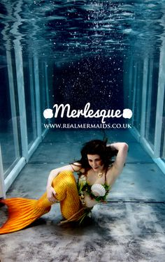 Merlesque Real Mermaids – UK professional mermaid performers. Our mermaids perform underwater & on land - everything from underwater modelling and swimming at aquariums, to cabaret and kids parties. Find out more at http://www.realmermaids.co.uk or follow at http://www.facebook.com/RealMermaidsUK  #Merlesque #mermaid #realistic #real #beautiful #UK #siren #underwater #fantasy #swimming #water #sea #ocean #model #modelling #costume #cosplay #entertainer #professional #photography #tail