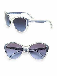 Dolce & Gabbana Cat's-Eye Acetate Sunglasses Ray Ban Sunglasses Outlet, Oakley Sunglasses, Sunglasses Women, Fashion Runway Show, Cat Eye Frames, Cat Eye Glasses, Street Style Women, Eyewear, Jewelry Accessories