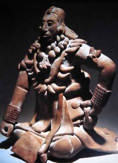 Although this is a priest of the Mayan civilization, Mayans' came to be after the Olmec so this is a possibly shared symbol. Since the Olmec is so old not much is known about them, but priests were the highest ranked in their social class as well as medicine doctors and protectors. -- Social Class
