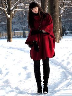 Little Red Riding Hooded Coat - New Arrivals - Retro, Indie and Unique Fashion