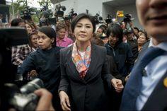 Junta Militar liberta ex-primeira-ministra da Tailândia | #Bangcoc, #JuntaMilitar, #Tailândia, #ThaksinShinawatra, #YingluckShinawatra