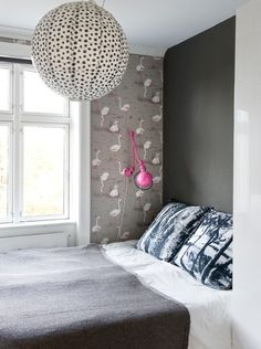 Flamingo wallpaper by Cole & Son available at walnut wallpaper #wallpaper