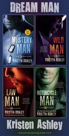 Dream Man Series  By Kristen Ashley   Love these books!