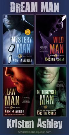 Dream Man Series  By Kristen Ashley   This is a fantastic series.. it is my favoite net to the Rock Chicks!