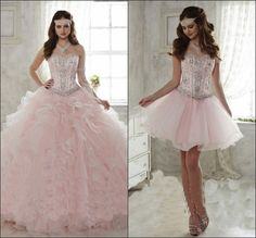 mint green and pink quinceanera decorations - Google Search
