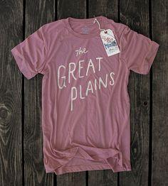 Little Mountain Print Shoppe, Inc. — The Great Plains Great Plains, Screen Printing Shirts, Bella Canvas, Mauve, Style Me, Shirt Designs, Tee Shirts, Mountain, Mens Tops