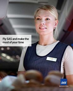 SAS Airlines cabin crew