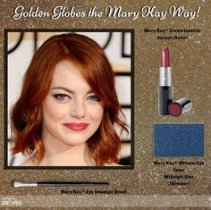 Golden Globes makeup look recreation! www.marykay.com/jaylyne