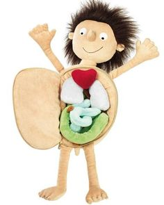 Erwin The Little Patient is perfect for children to play with. They will be able to explore different body parts and even focus on whatever the medical situation they are going through.
