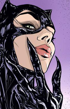 Catwoman Cosplay, Batman Und Catwoman, Cosplay Gatúbela, Batgirl, Catwoman Suit, Catwoman Makeup, Marvel Dc Comics, Math Comics, Dc Comics Art